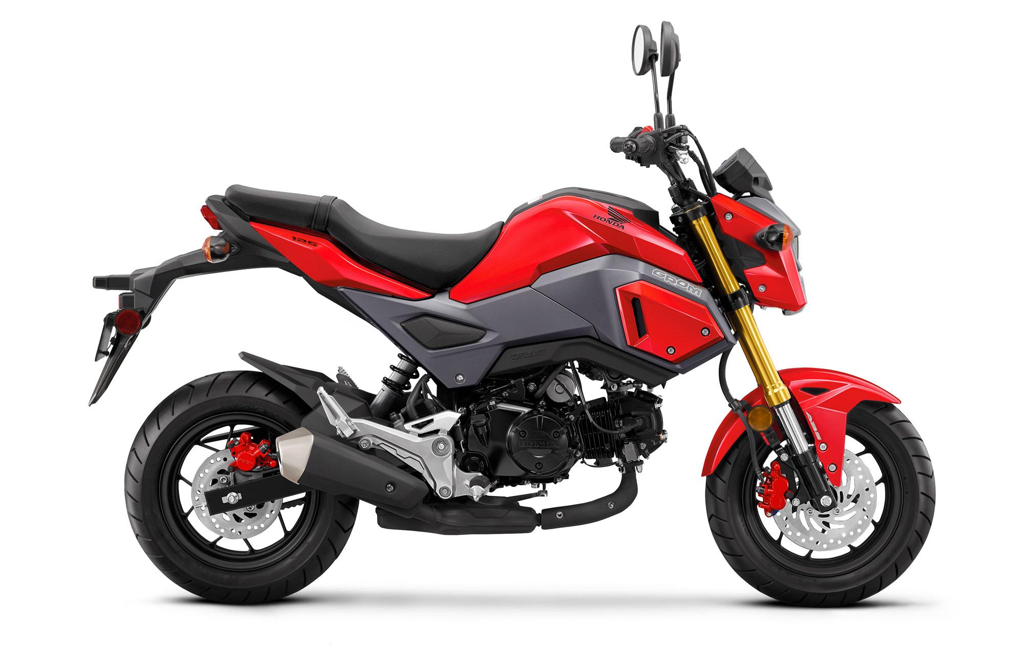 Honda-msx-125-Grom-kırmızı