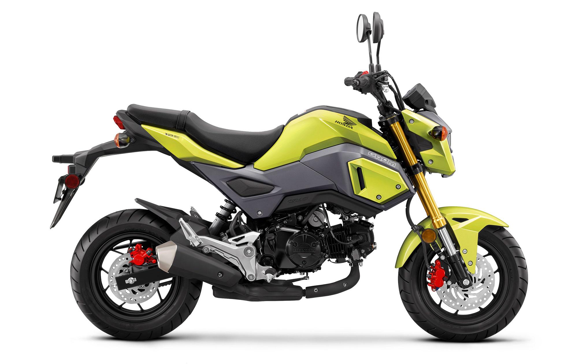 Honda-msx-125-Grom-sarı