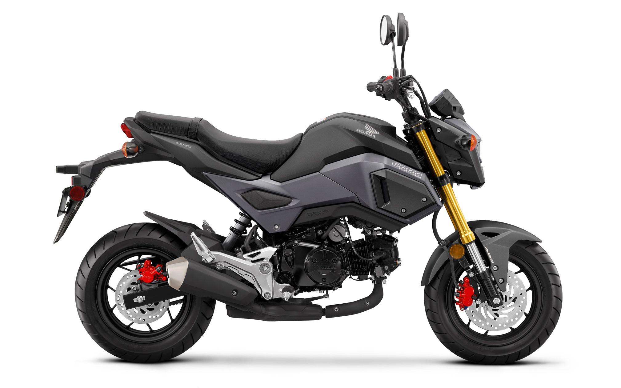 Honda-msx-125-Grom-siyah