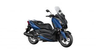 Yamaha XMAX 125-Yakıt-Tüketimi-ve-Teknik-Özellikleri-mavi