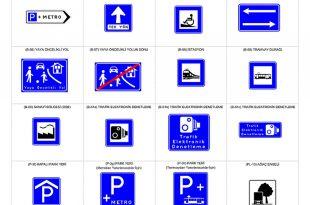Yeni trafik işaretleri