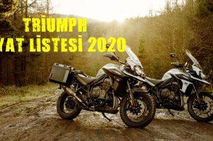 Triumph Fiyat Listesi 2020